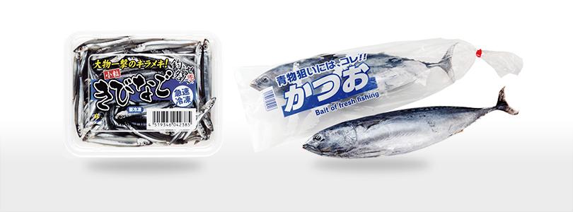 小魚・イカ(原体)