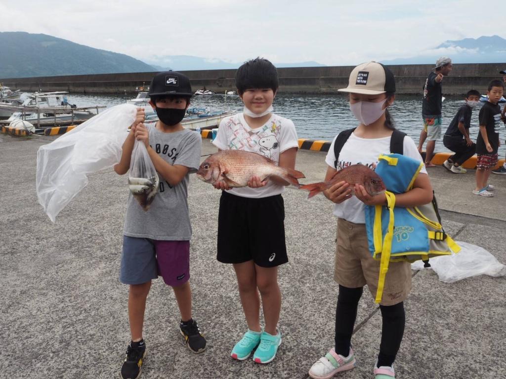 大物賞はなんと!45センチの真鯛でした!