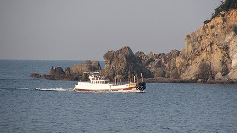 みなべ鹿島の磯渡し船