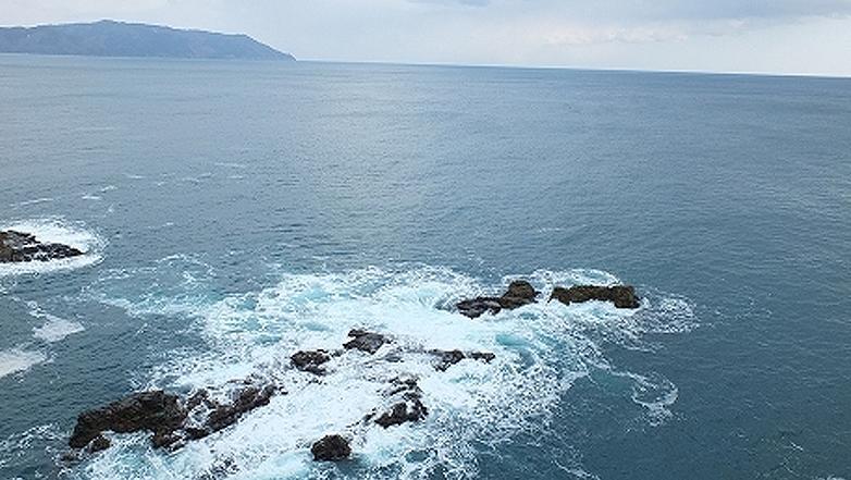 岩手県大船渡市の碁石海岸